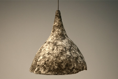 Papercrete Lighting